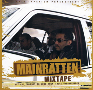 Picture of Mainratten - Mainratten Mixtape CD-R