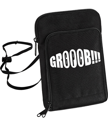 Picture of GROOOB - STREETBAG (schwarz)